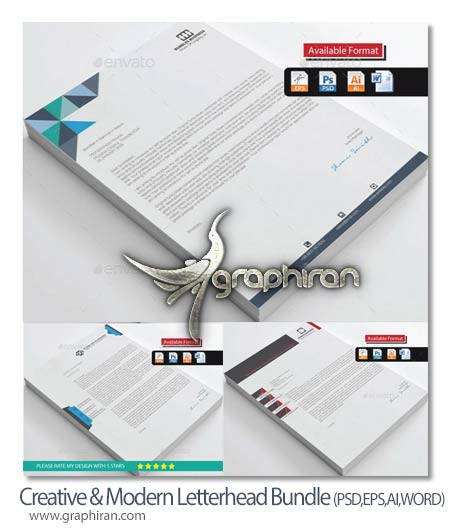 Creative-Modern-Letterhead-Bundle